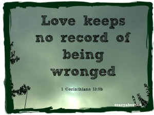 being wronged